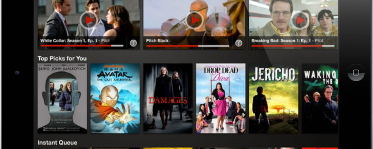 Netflix-iPad